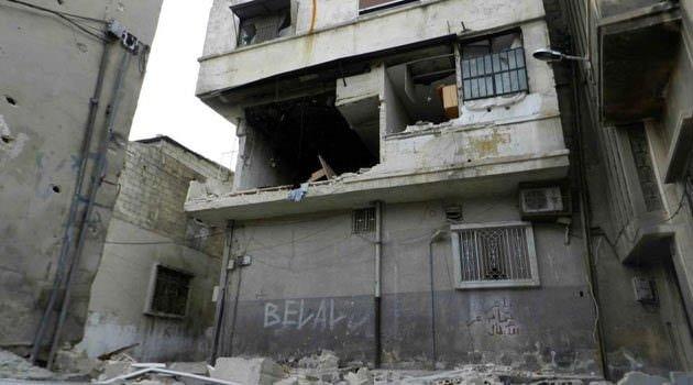 Suriye'den savaş görüntüleri