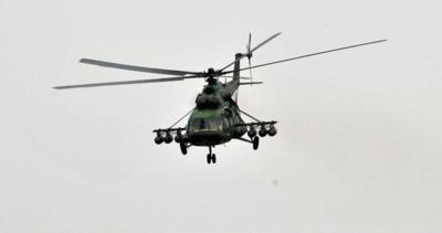 Afganistan'da askeri helikopter acil iniş yaptı!