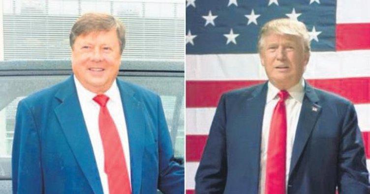 Kayınpederi tıpkı Trump'a benziyor
