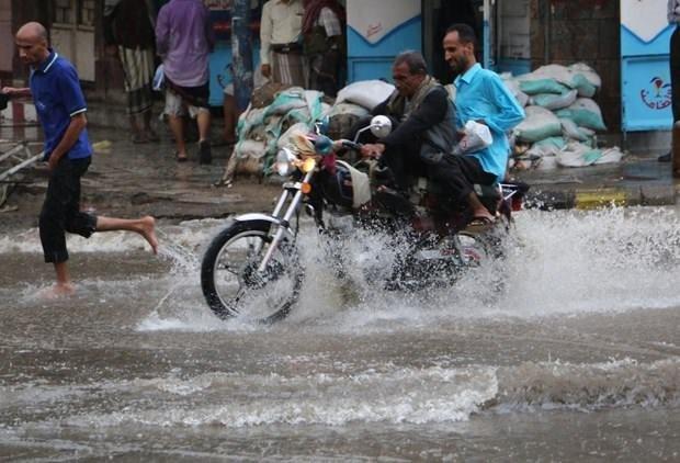 Yağmur suyunu bidonlara doldurdular