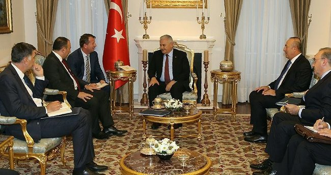 Başbakan Yıldırım, Bosna Hersek Dışişleri Bakanı Crnadak'ı kabul etti