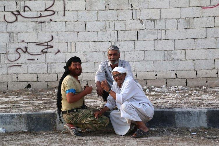 DAEŞ'in Cerablus'tan çıkarılması halk tarafından memnuniyetle karşılandı