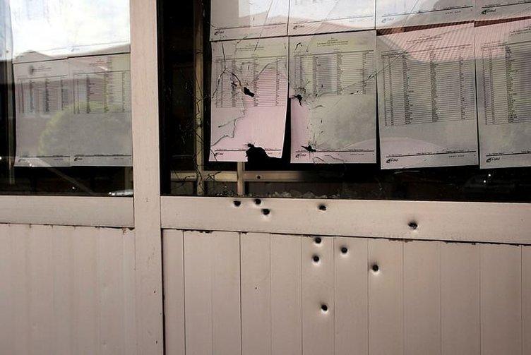 Van'da liseye silahlı saldırı