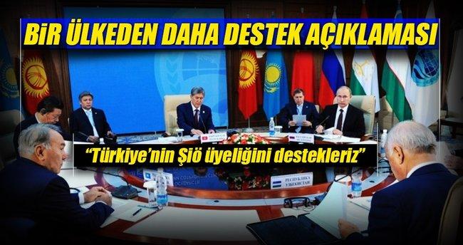 Çin: Türkiye'nin ŞİÖ üyeliğini destekleriz