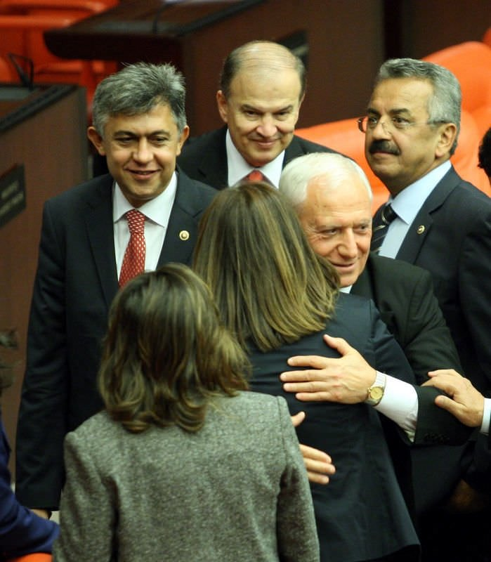 Mehmet Haberal, yemin etti