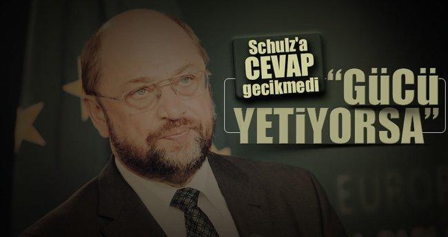 Çavuşoğlu'ndan Schulz'a cevap gecikmedi