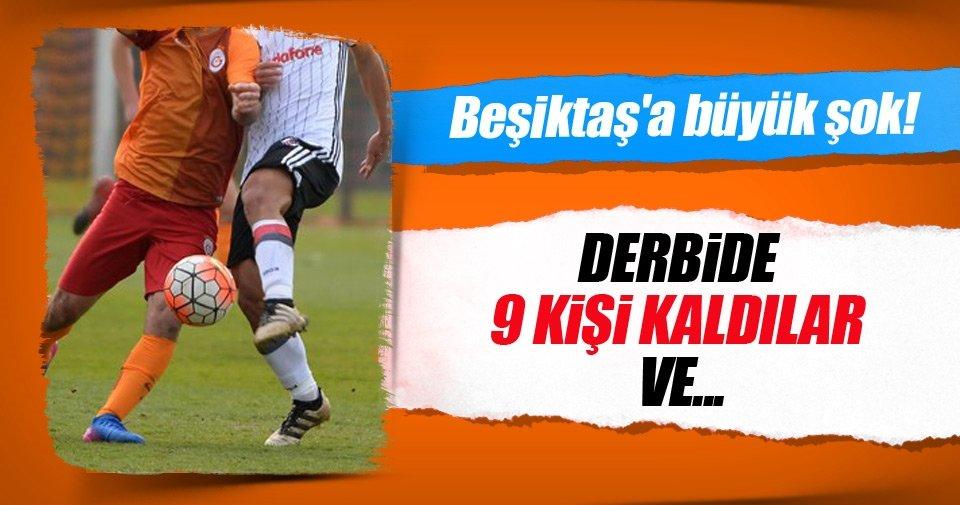 Galatasaray - Beşiktaş derbisinde 2 kırmızı kart, 2 gol