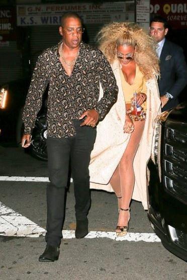 Beyonce'nin doğum gününe ünlü akını!