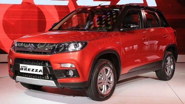 Suzuki Vitara Brezza sahneye çıktı
