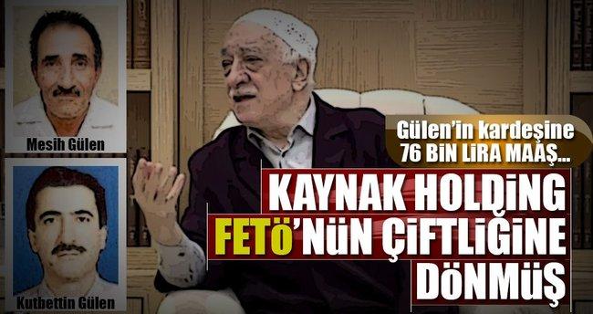 Gülen'in kardeşine 76 bin lira maaş…