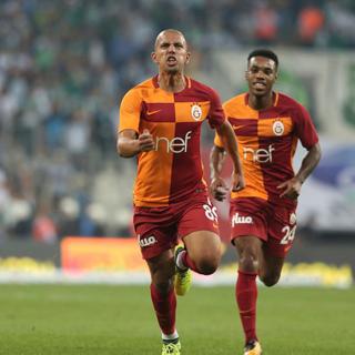 Galatasaray'da ilk golünü atan Feghouli: Elhamdülillah