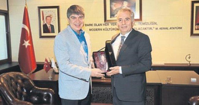 Antalya Büyükşehir'den Başkan Zolan'a ziyaret
