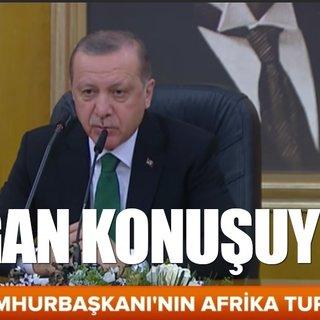 Cumhurbaşkanı Erdoğan: Millet ne derse baş göz üstüne