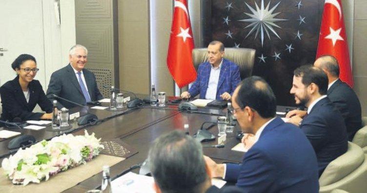 Erdoğan'dan Huber'de diplomasi trafiği
