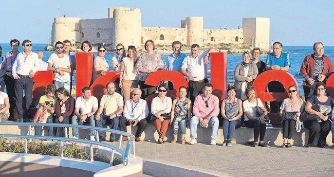 Sağlıklı Kentler Birliği Mersin'e hayran kaldı