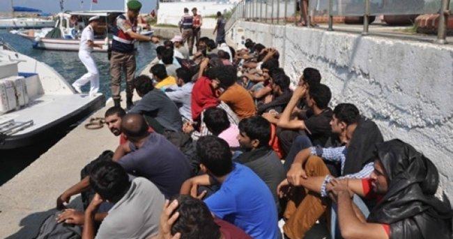 Manavgat'ta 31 kaçak göçmen yakalandı