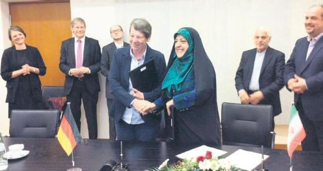 İran basını Alman bakanı erkek sandı