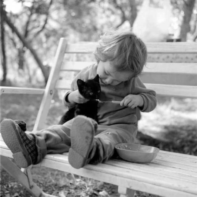 Çocuklar ve Hayvanlar Arasındaki Derin Bağı Anlatan Sıcacık Fotoğraflar
