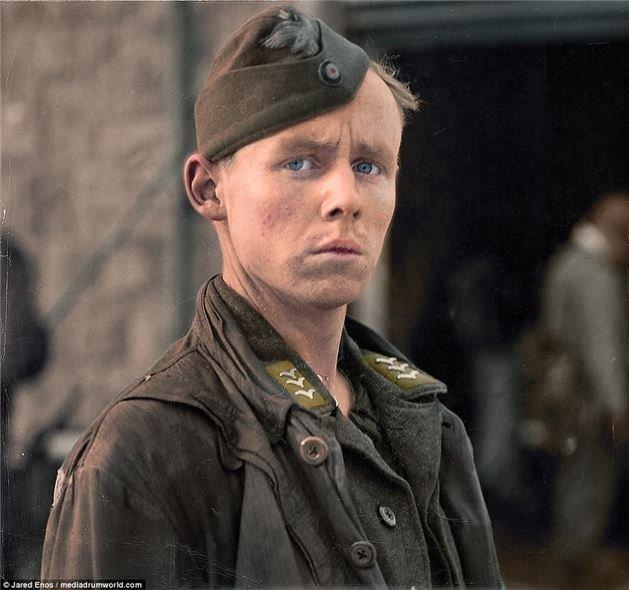 2. Dünya Savaşı'nın renki fotoğrafları