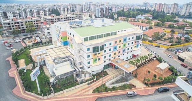 Akdeniz Bölgesi'ne yeni modern hastane