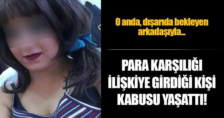 İlişkiye girdiği kadının 440 lirasını gasp etti
