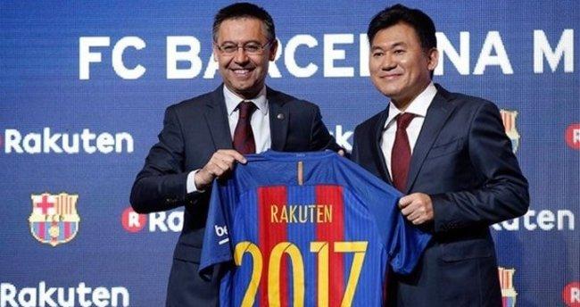 Barcelona'nın yeni forma reklamı Rakuten'den ne kadar kazandı?