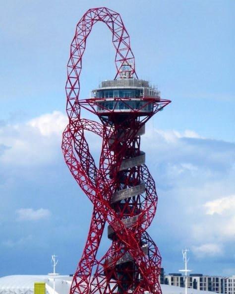 Gözlem kulesi kaydırağa dönüşüyor