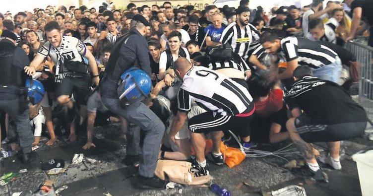 Torino'da bomba paniği: 1527 yaralı