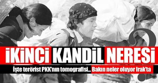 PKK'nın Irak'taki varlığı...