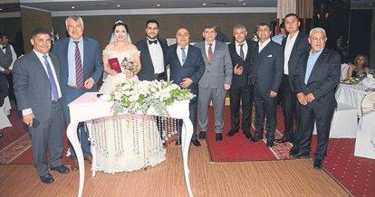 Cansun ve Ali Berkan mutluluğa yürüdü