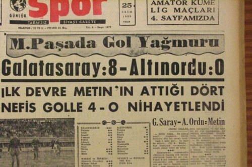 Süper Lig tarihinin en farklı galibiyetleri
