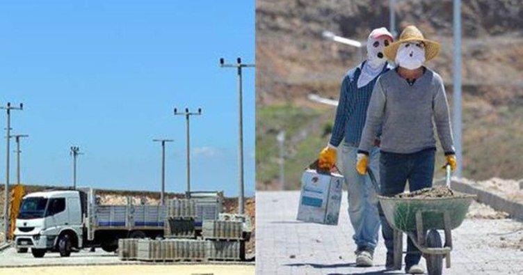 Erzurum'da yeraltı kablolarını çaldılar