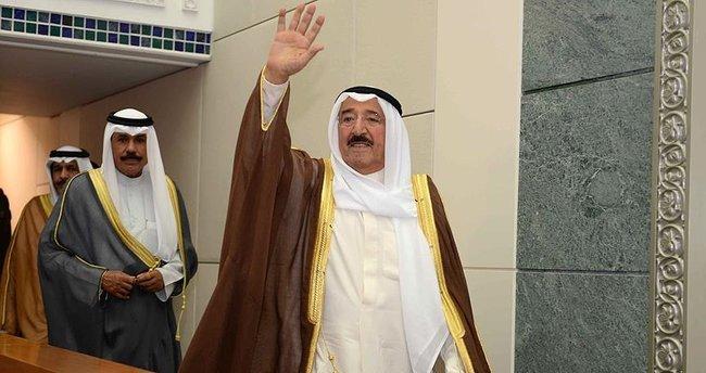 Kuveyt Emiri el Sabah yarın Türkiye'ye geliyor