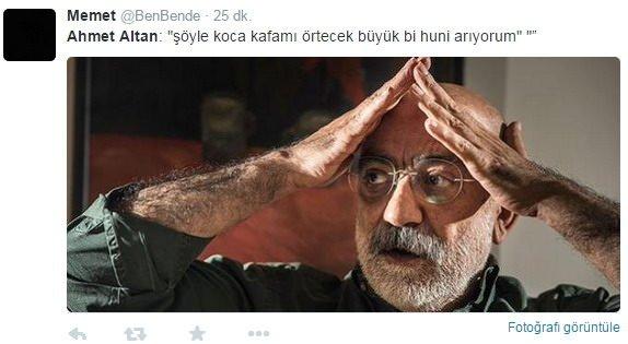 Ahmet Altan sosyal medyada rezil oldu