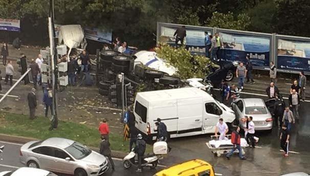 İstanbul'da feci kaza!
