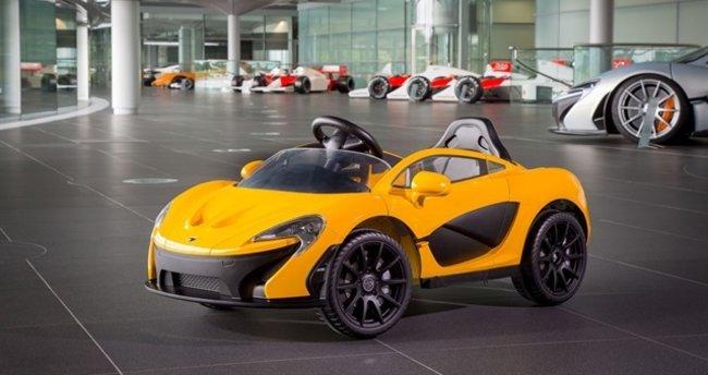 McLaren çocuklara özel elektrikli otomobil üretti
