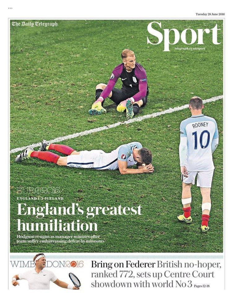 İngiltere, İzlanda'ya elendi! 2. Brexit