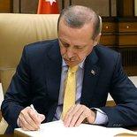 Cumhurbaşkanı Erdoğan'dan kanun onayı (1)