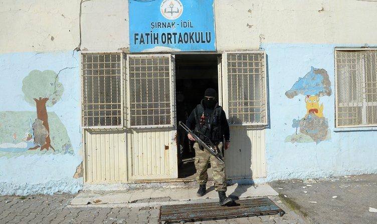 PKK'lılar burada sıkıştırıldı!