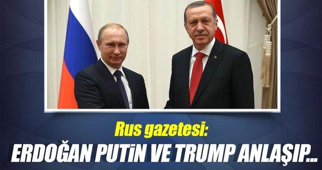Rus gazetesinden Putin-Erdoğan-Trump önerisi