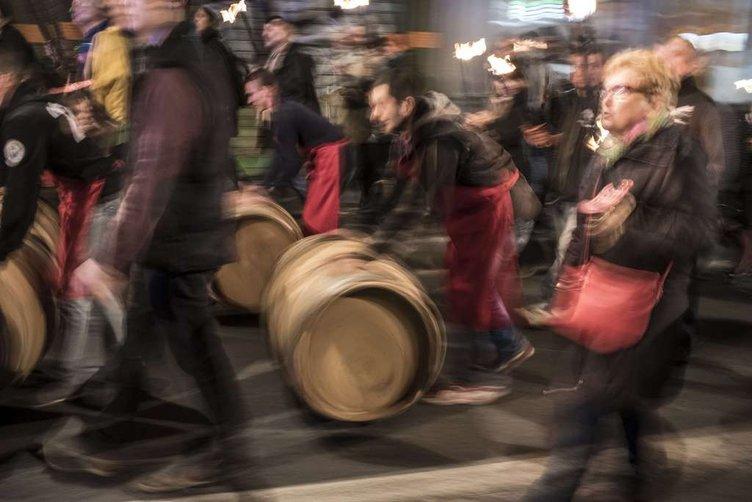 Fransa'da şarap festivali
