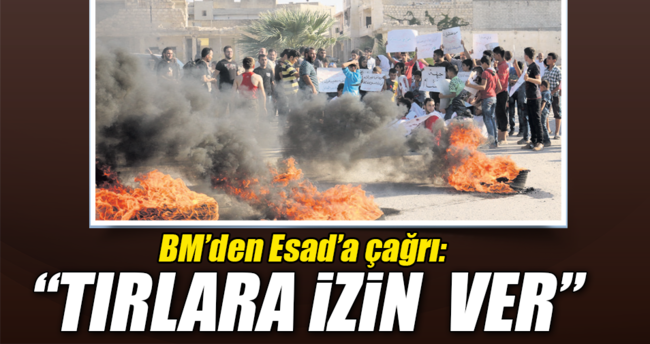 Gaddar Esad izin vermiyor