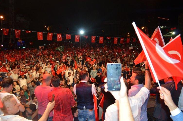 'O gece anladık ki ülkemizin Erdoğan gibi bir lidere ihtiyacı var'