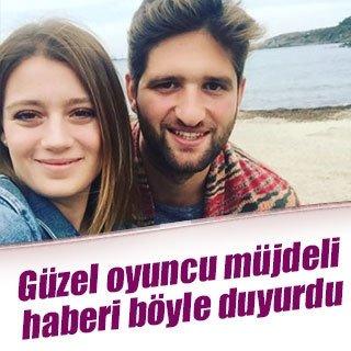 Gizem Karaca sevgilisi Kemal Ekmekçi'ye 'evet' dedi
