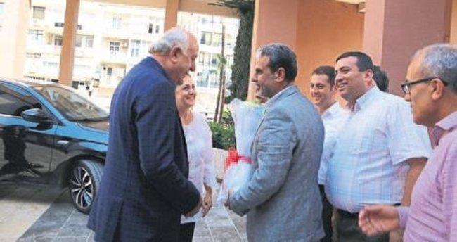 Şanverdi'den Başkan Seyfi Dingil'e ziyaret