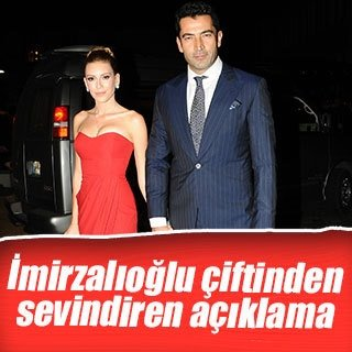 Kenan İmirzalıoğlu ve Sinem Kobal'dan sevindiren açıklama