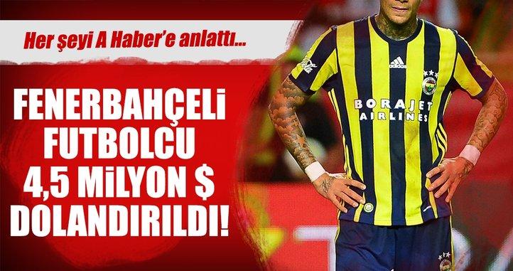 Son dakika: Fenerbahçeli Van der Wiel dolandırıldı!