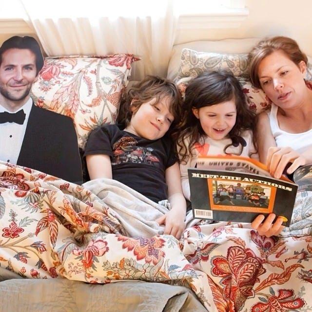 Bradley Cooper onlarla yaşıyor