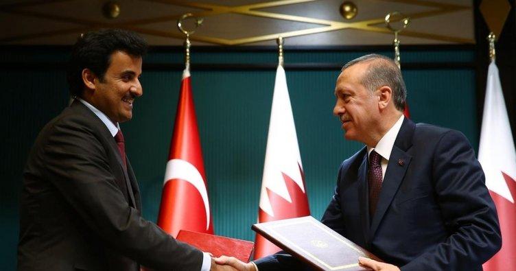 Son dakika: Katar Emiri Türkiye'ye geliyor