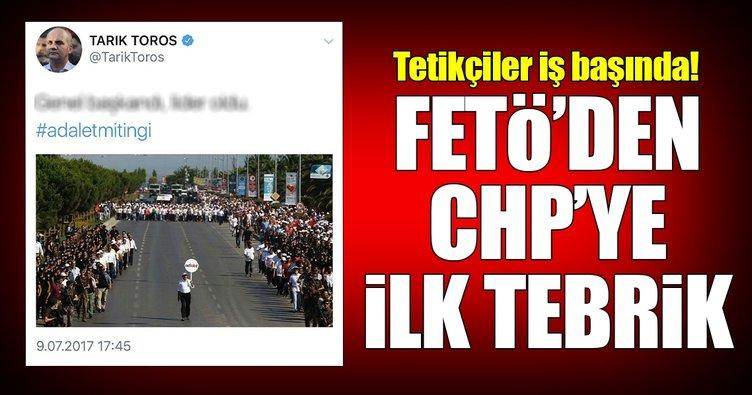 FETÖ'den CHP'ye ilk tebrik